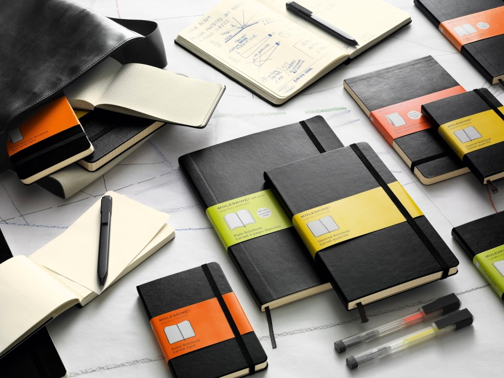 Intro classic black notebooks